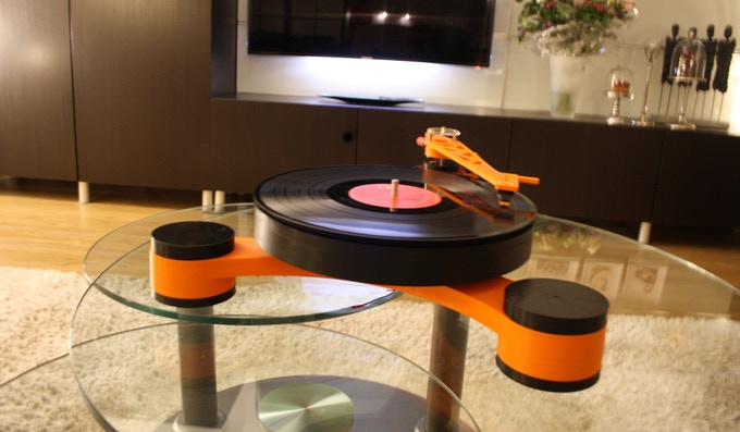 Lenco Md World S First 3d Printed Modular Record Player