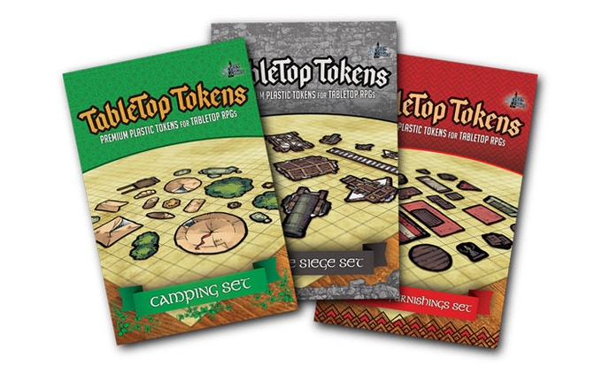Tokens sets from our first Kickstarter
