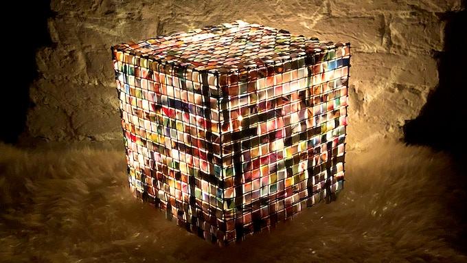 Bikuba Cube Prototype Lamp