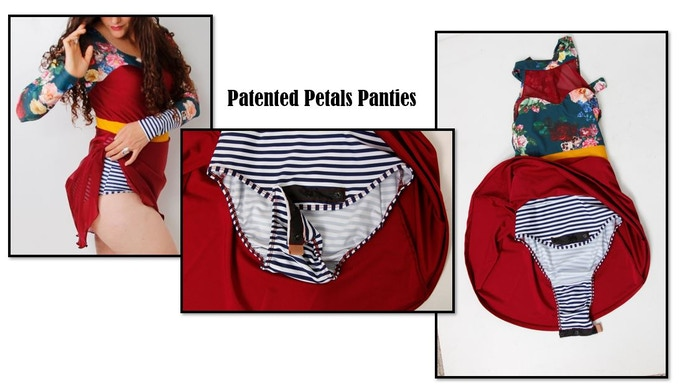 Petals Panties change everything when it comes to a one piece swimming suit!