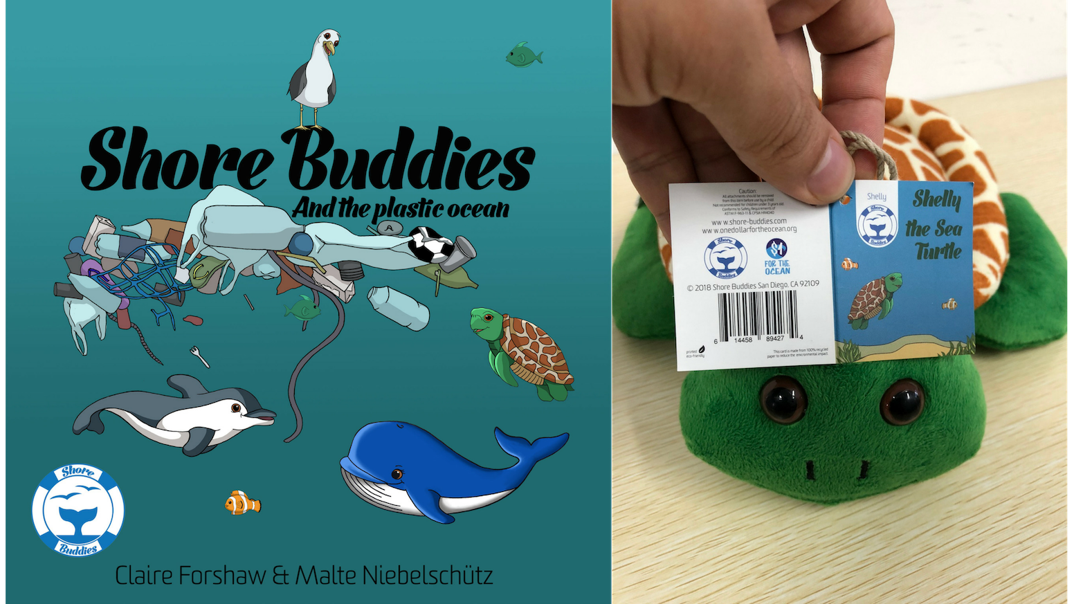 Thank you for everyone's support to help keep plastics out of Our Oceans. We are currently collecting backers information and will ship out rewards soon. All Shore Buddies as well as the book are now available on our website as well.