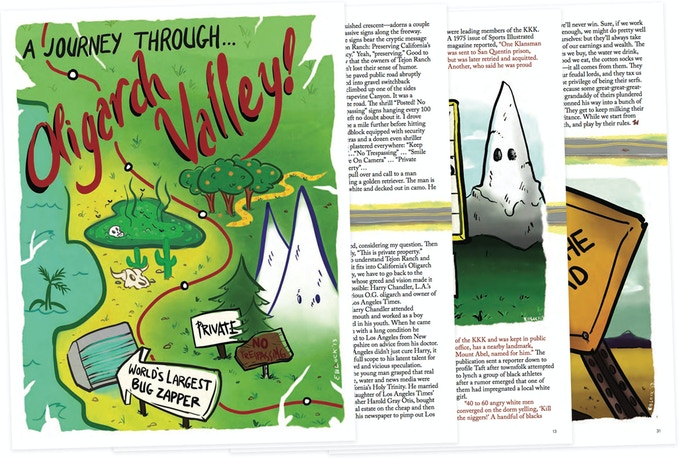Pages from 'A Journey Through Oligarch Valley'