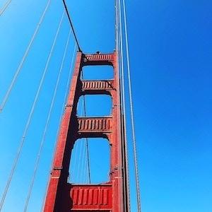 Front Cover Color: Golden Gate Bridge Orange