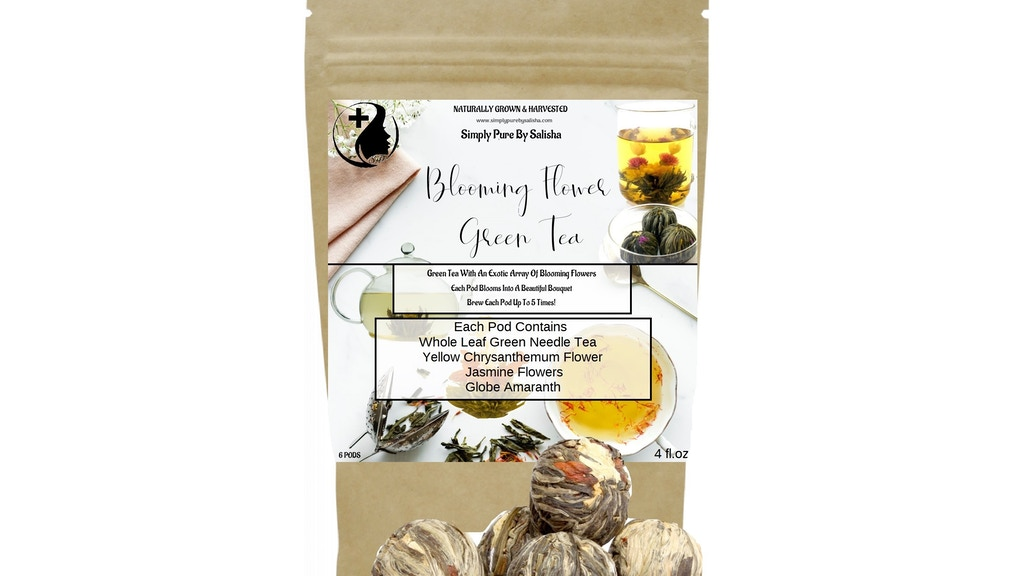 Revolutionary Tea Drinking Experience That Bloom In Your Cup