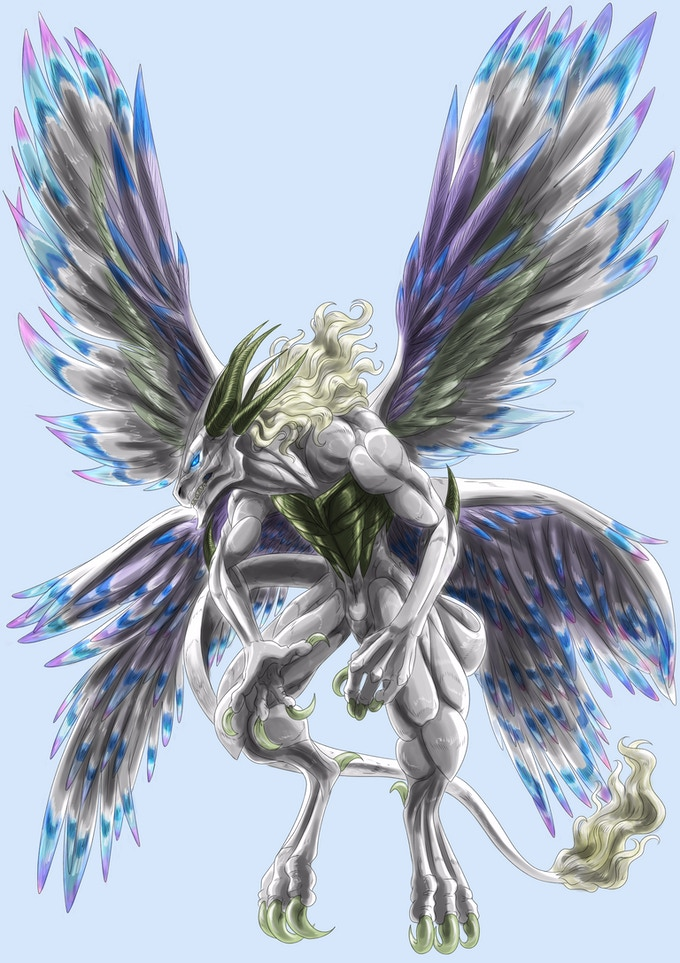The wisest of the dragons. As one of the Ancient Ones, Ehecazi controls the Four Winds of SclObonia.