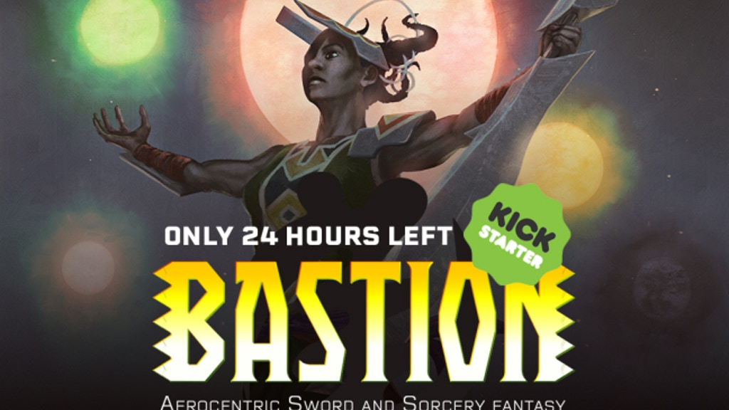 BASTION: Afrocentric Sword and Sorcery fantasy project video thumbnail