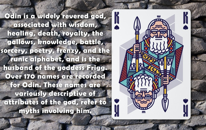 Walhalla Playing Cards by The Cardster — Kickstarter