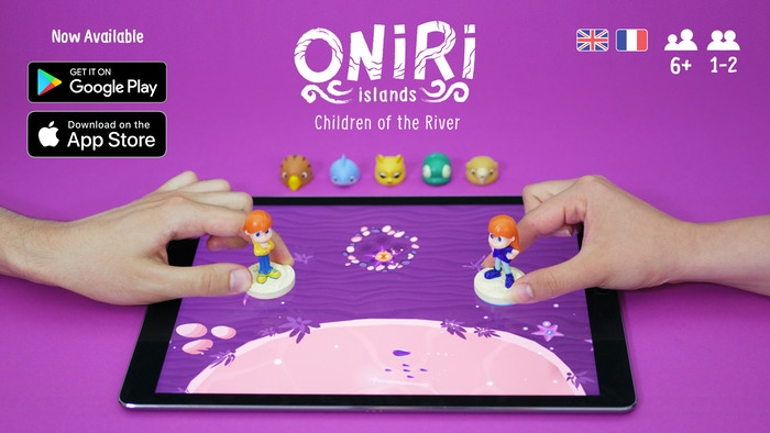 A co-op adventure game for two players. Move your toys, Mina & Tim, on your tablet to explore the fabulous world of Oniri Islands!