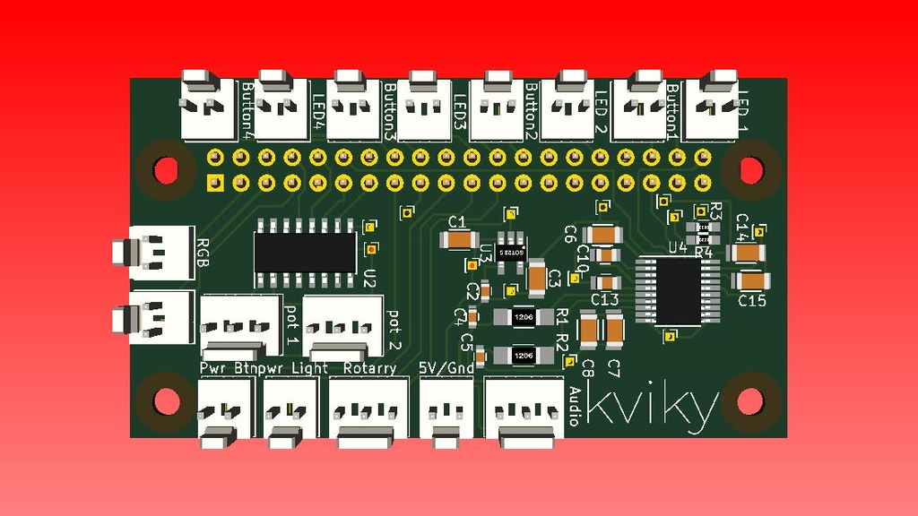 Quickstarter: Kviky ·Easy Audio Prototyping for Raspberry Pi project video thumbnail