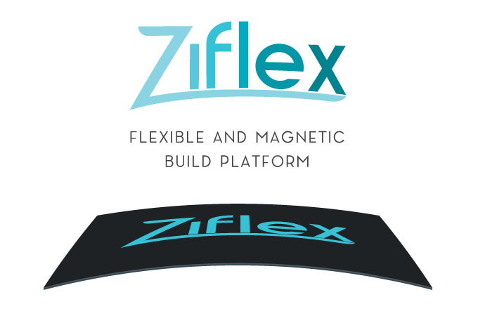 Ziflex provides easy prints removal, magnetic positioning and ensures strong adherence to any material.