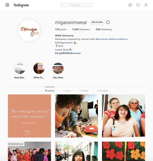 Instagram @migaswimwear