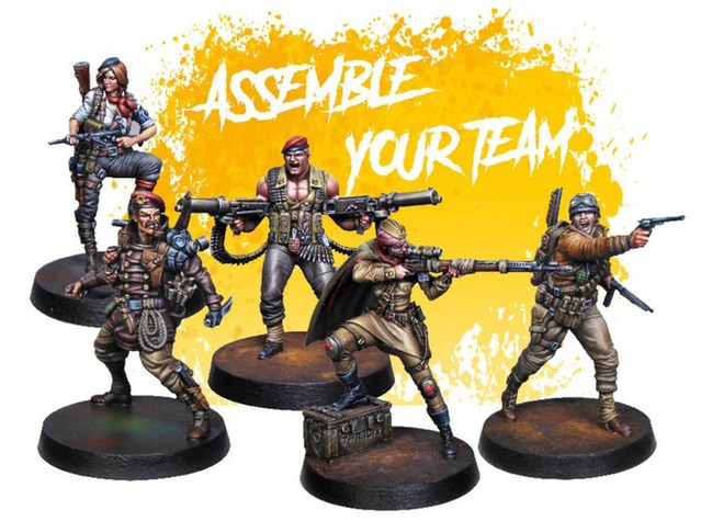 Form your team of up to four heroes to go on each mission