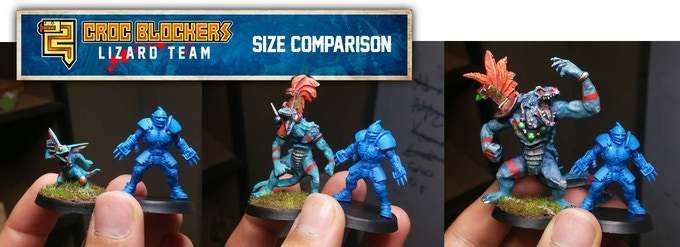 Human model is for size comparison only and is owned by Games Workshop