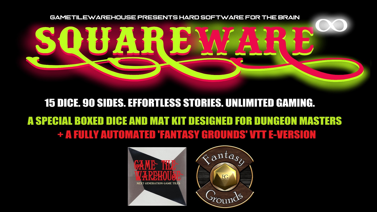 SquareWare: RPG Tools for Sparking the Creative Brain by