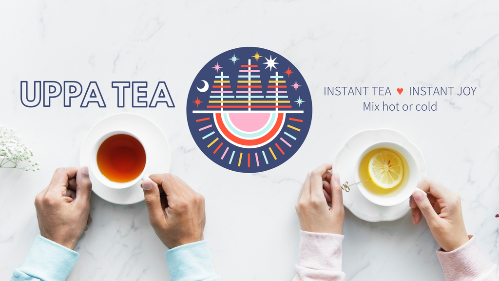 UPPA TEA | Instant tea mixed hot or cold project video thumbnail