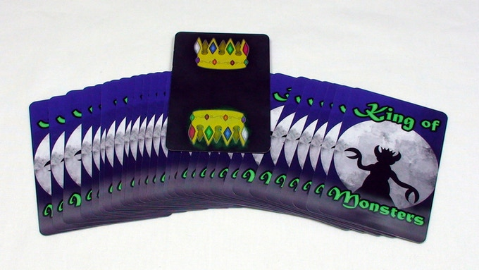 Back of the cards and front of the crown (standard version)