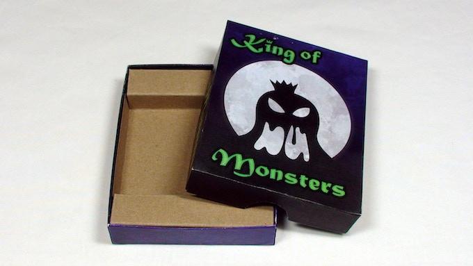 The blister inside the box (standard version)