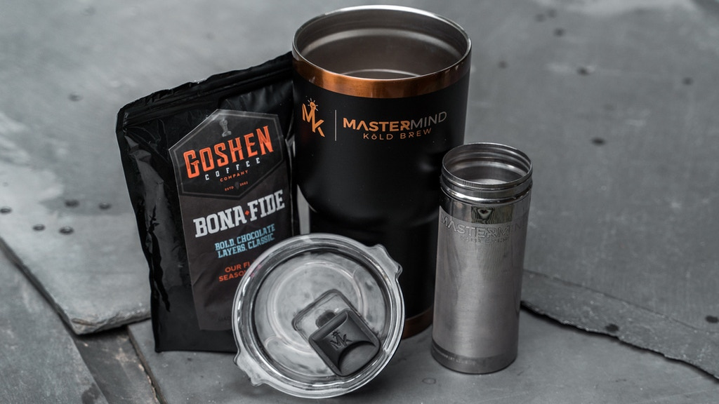 Meet Coffee's Favorite Tumbler | Mastermind's Kōld Brewer. project video thumbnail