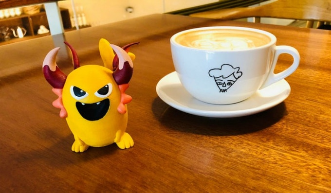 Espresso your support and be rewarded with a new friend!