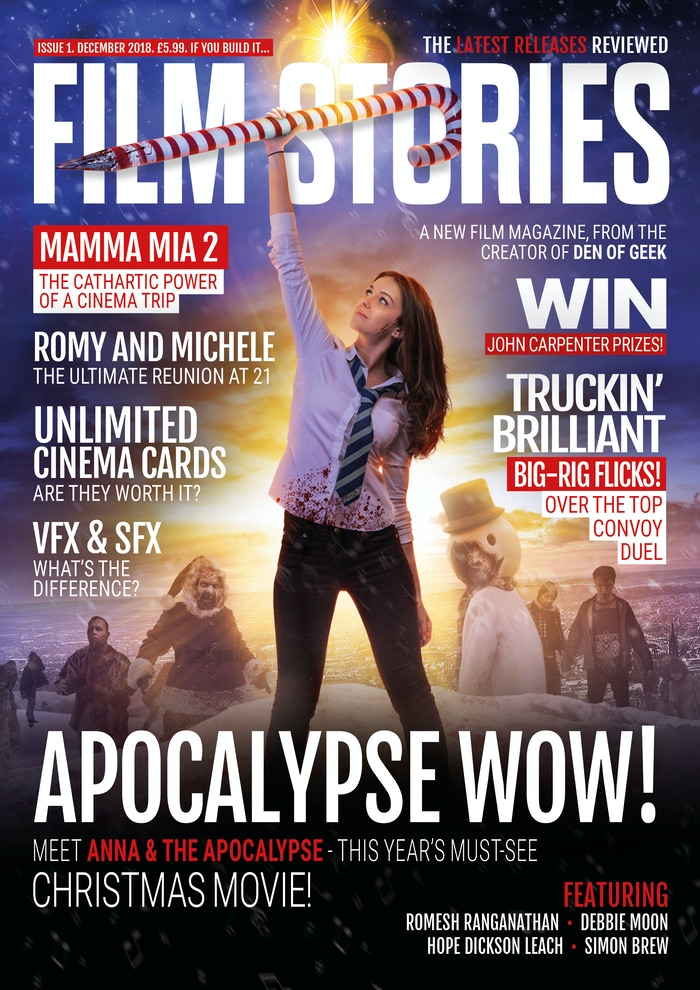 From the creator of Den Of Geek, a monthly print magazine, championing the film releases that deserve coverage,  featuring new writers! Now we're funded - yay! - find out more at www.filmstories.co.uk