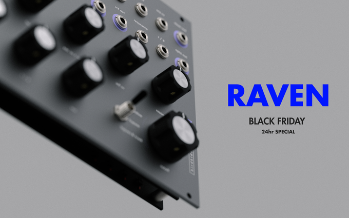 RAVEN, Black Friday 24hr Special!