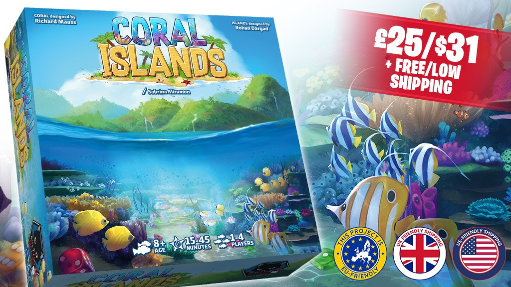 Coral Islands : 2 interactive dice-stacking games in 1 box! project video thumbnail