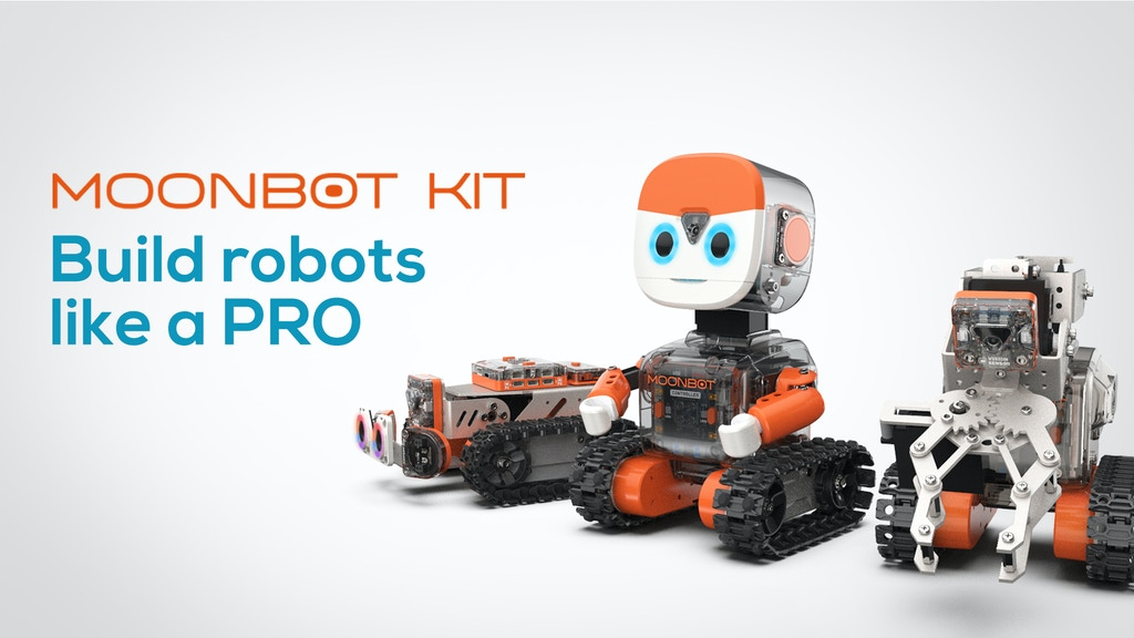 MoonBot: DIY Kit for Tinkering with Modern Robotics & AI project video thumbnail