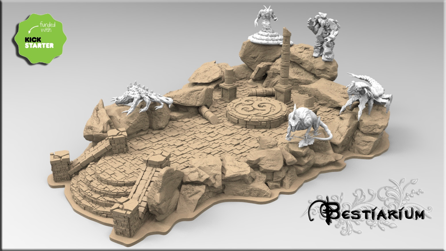 STL Files 3D printable Miniatures for 3d Printer.