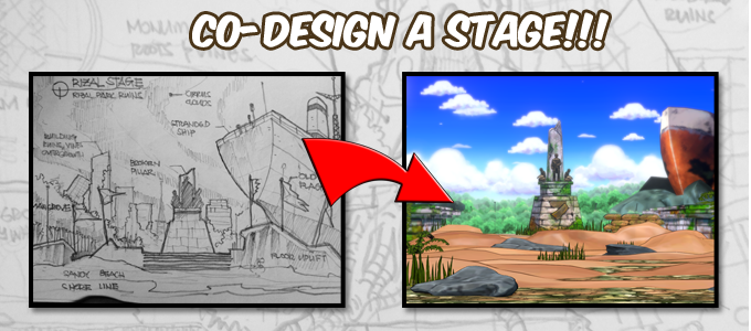 Let's turn any place you want into a fighting game stage! We will have to virtually destroy it first, make it post apocalyptic looking aaannnd perfect! The design would subject to our approval first.