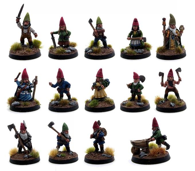 The Common (or Garden) Gnomes