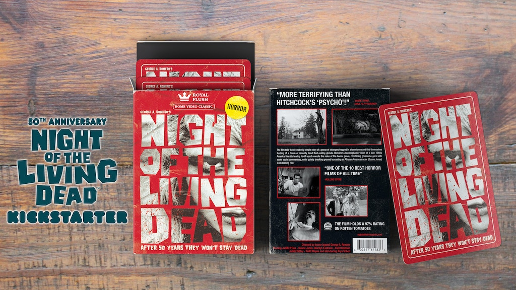 Night of the Living Dead: Party Kickstarter project video thumbnail