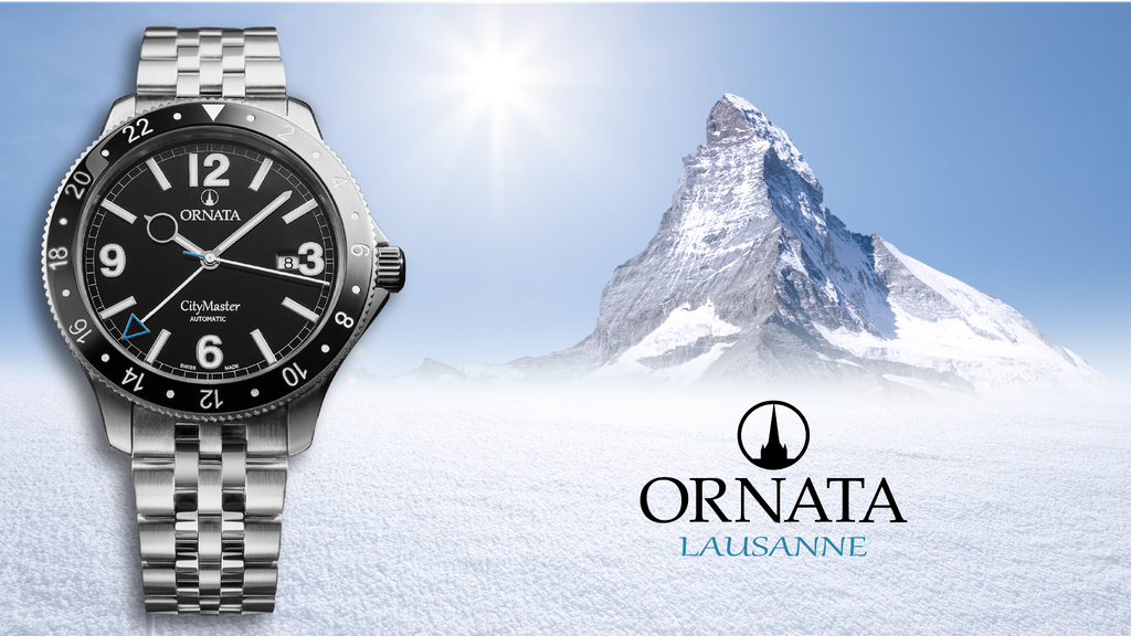 Ornata Watches. Truly Swiss. Truly unique.