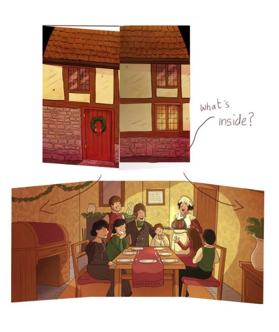 The Christmas card!