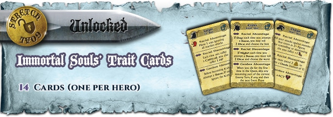 "One card for each ""Immortal Souls"" Core Set Hero AND one card for each extra ""Season 1"" Hero."