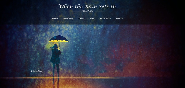 ☔ When the Rain Sets In ☔ by James Hughes — Kickstarter