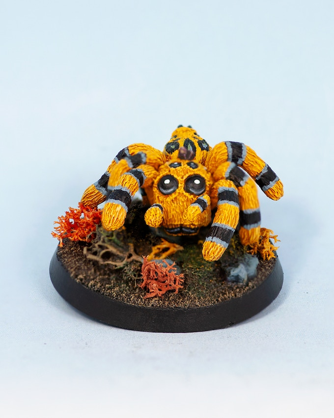 Medium Spider Yellow