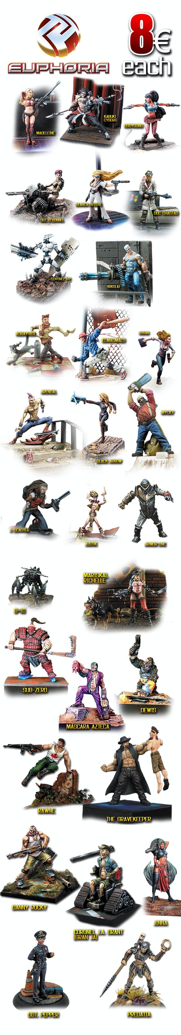 Euphoria: Legends Remake by Euphoriaminiatures — Kickstarter