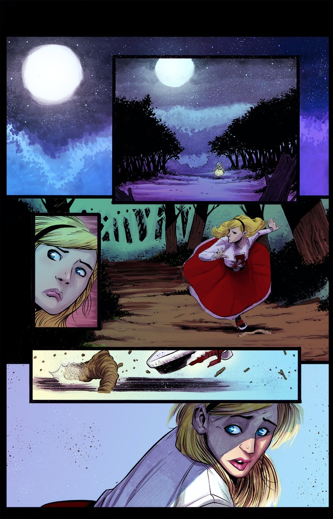 Chase the Moon Page 01
