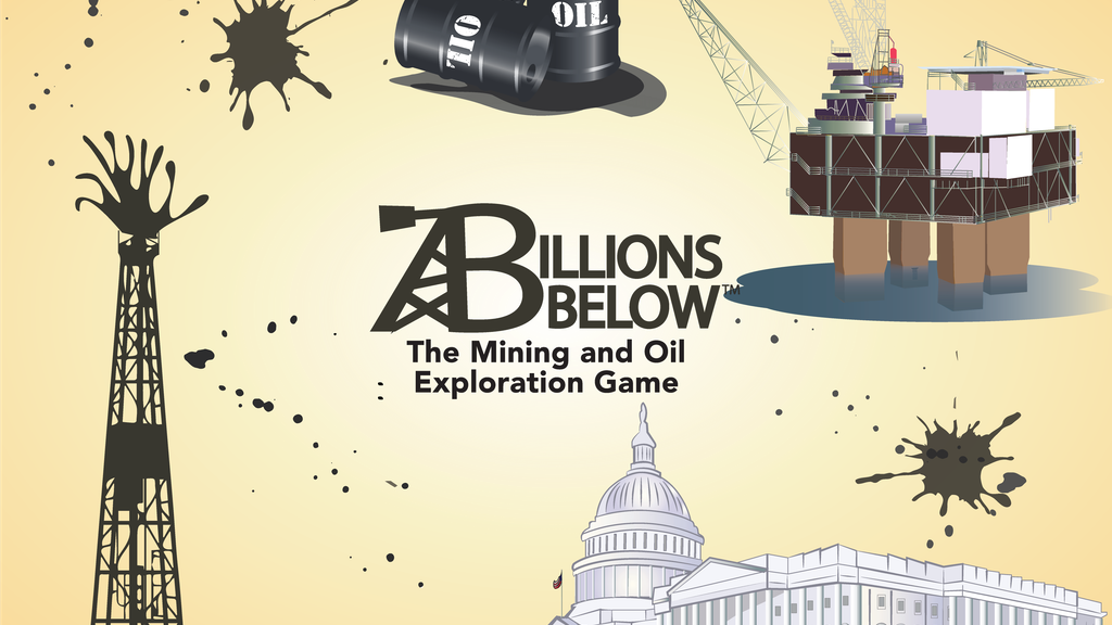 Project image for Billions Below: The Mining and Oil Exploration Game (Canceled)