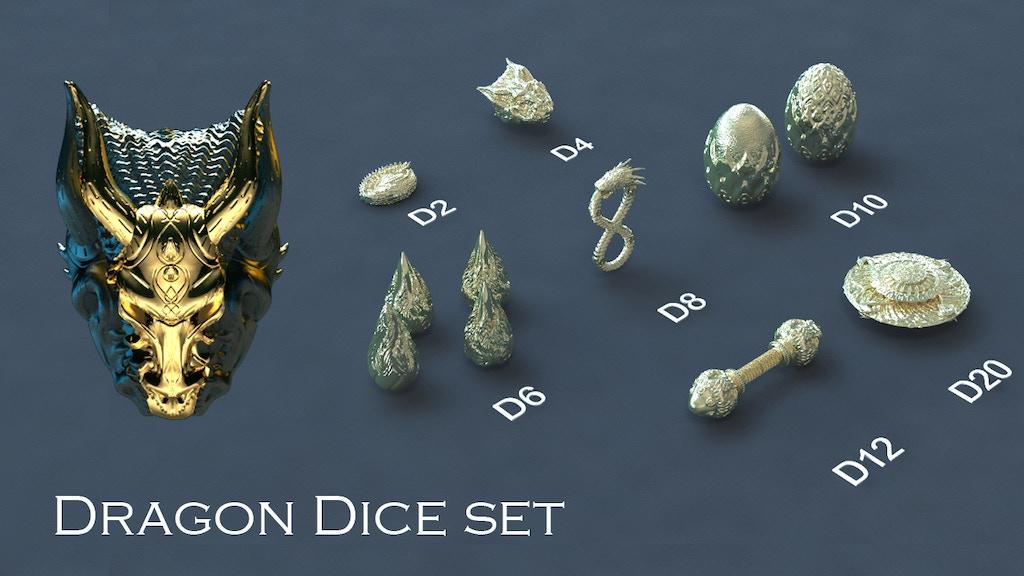 Ancient Dragon Dice Set project video thumbnail