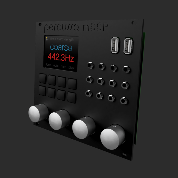 Percussa mSSP 3D Render