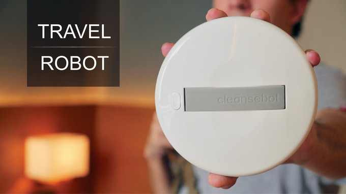 World's First Bacteria Killing Robot by Cleansebot — Kickstarter
