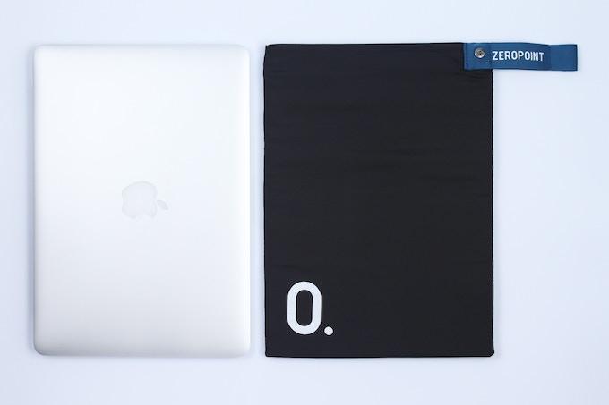 Size as a laptop