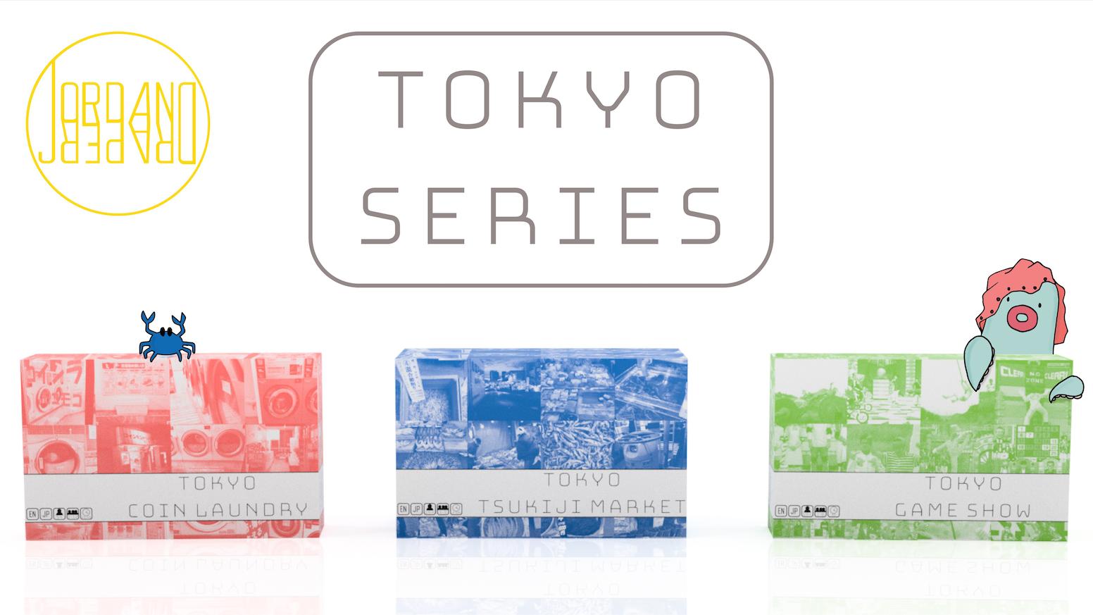 TOKYO SERIES 4-6: COIN LAUNDRY, TSUKIJI MARKET, & GAME SHOW!