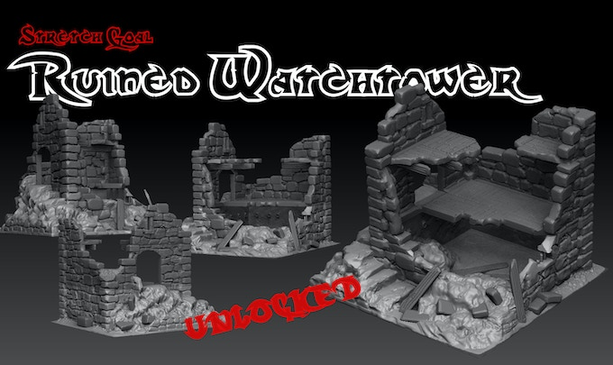 £4000 Stretch Goal - Ruined Watchtower