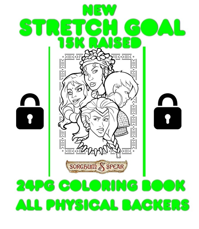 Stretch Goal #1 is now in play!