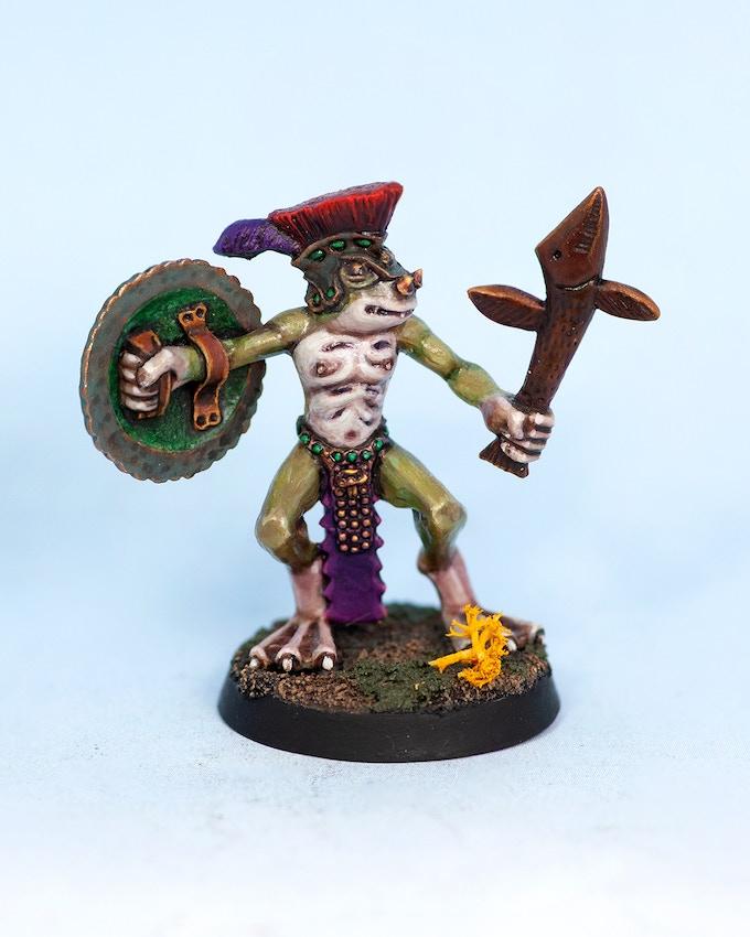 Urbat the Sheildbearer - F
