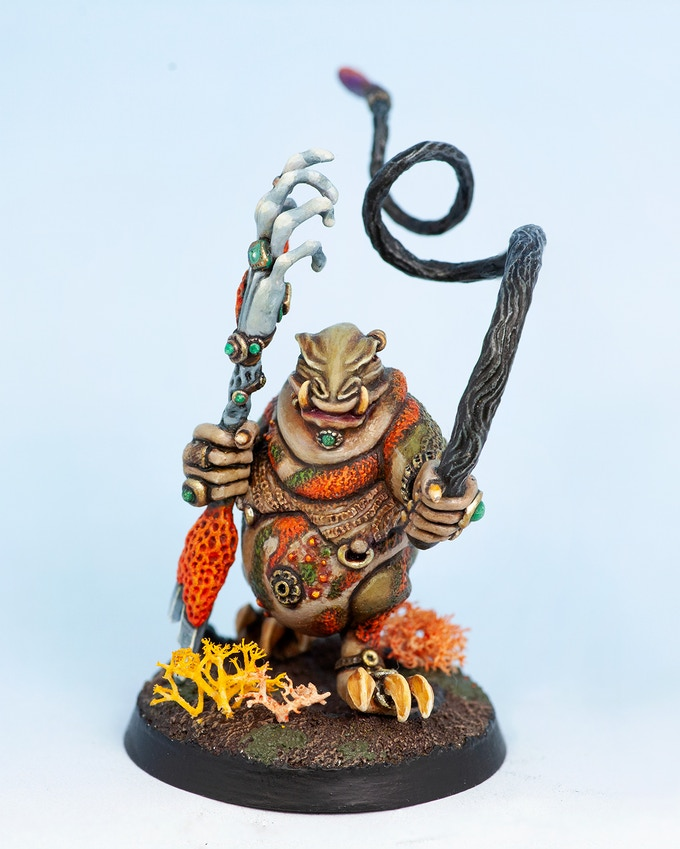 Slaver Lord - prototype casting (metal)
