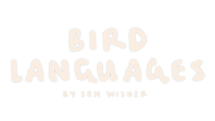 An album about transcendence and survival through birds from Sen Wisher, produced by Stephen Cope, Stuart Wheeler, and Ben Swisher.