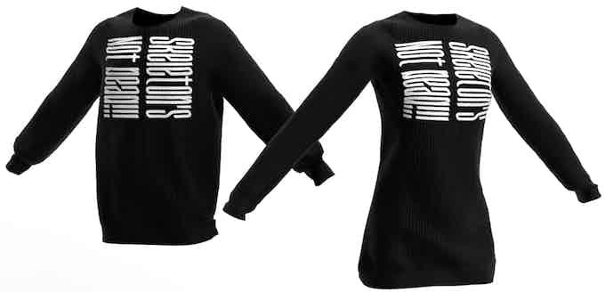 Skeleton Conscript Sweatshirt